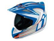 Icon Variant Raiden Street Helmet Glory/Red/White/Blue LG 9SIA1453KN9001