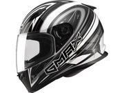 Gmax FF49 Warp Full Face Street Helmet White/Silver SM 9SIA1453RD4857