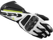 Spidi STR-4 Leather Gloves White/Black 3XL 9SIAAHB46G7690