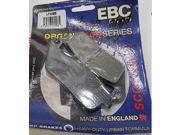 EBC Brakes FA496 FA496 EBC BRK PAD