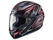 HJC CS-R3 Spike Motorcycle Helmet  Red/Black/White SM 9SIA14546F6572
