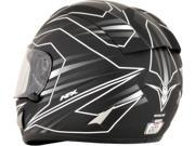 AFX FX-95 Mainline Full Face Helmet White/Black MD 9SIA1454WR6332
