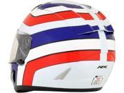 AFX FX-95 Vintage Full Face Helmet Honda White LG 9SIA1454WR6070