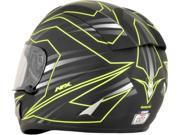 AFX FX-95 Mainline Full Face Helmet Lime/Black LG 9SIA1454WR6343