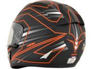 AFX FX-95 Mainline Full Face Helmet Orange/Black SM 9SIA1454WR6067