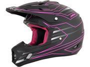 AFX FX-17 Mainline MX Offroad Helmet Fuchsia/Black SM 9SIA1454WR6109