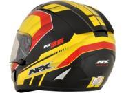 AFX FX-95 Airstrike Germany Limited Edition Full Face Helmet Black/Red/Yellow LG 9SIA1454WR6350