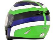 AFX FX-95 Vintage Full Face Helmet Kawasaki Green SM 9SIA1454WR5951