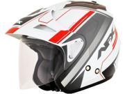 AFX FX-50 Signal Open Face Helmet Red SM 9SIA1454WR6079