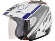 AFX FX-50 Signal Open Face Helmet Blue SM 9SIA1454WR5992