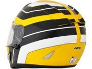 AFX FX-95 Vintage Full Face Helmet Yamaha Yellow LG 9SIA1454WR6024