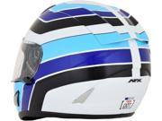AFX FX-95 Vintage Full Face Helmet Suzuki Blue SM 9SIA1454WR6347