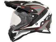 AFX FX-41DS Dual Sport Eiger Full Face Helmet Red MD 9SIA1454WU1726
