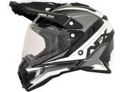 AFX FX-41DS Dual Sport Eiger Full Face Helmet Silver MD 9SIA1454WU1355