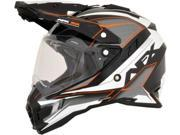 AFX FX-41DS Dual Sport Eiger Full Face Helmet Orange LG 9SIA1454WU1702