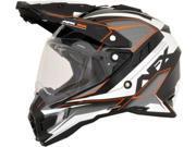 AFX FX-41DS Dual Sport Eiger Full Face Helmet Orange MD 9SIAAHB4ZH4843
