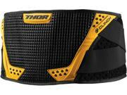 Thor Clinch Youth Kidney Belt Black Yellow