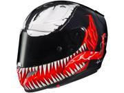 HJC RPHA-11 Pro Venom Motorcycle Helmet Black/Red/White MD 9SIA14555W5166