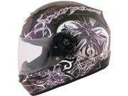 Scorpion EXO-R410 Orchid Helmet Black/Purple/White 2XL 9SIA1452T18298