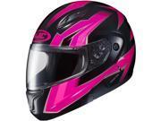HJC CL-MAX 2 Ridge Motorcycle Helmet Pink/Black SM 9SIA1453FB4125