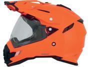 AFX FX-41DS Solid Full Face Helmet Saftey Orange SM 9SIA1452T03862