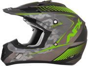 AFX FX-17Y Factor 2016 Youth MX Offroad Helmet Fluorescent Green MD 9SIA1453R50040