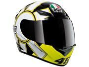 AGV K3 Rossi Gothic Helmet Black SM 9SIA1450UY8238