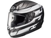 HJC RPHA-11 Pro Skyrm Full Face Helmet Black/White/Silver MD 9SIA1454X83993