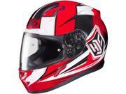 HJC CL-17 Striker Full Face Helmet Red/White/Black MD 9SIA1453FB2807
