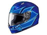 HJC FG-17 Banshee Full Face Helmet Blue LG 9SIA1452T20388