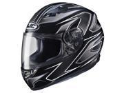 HJC CS-R3 Spike Full Face Helmet Black/White/Silver LG 9SIA14546F7168