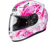 HJC CL-17 Cosmos Full Face Helmet White/Pink MD 9SIA1454XB9016