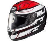 HJC RPHA-11 Pro Skyrm Full Face Helmet Black/Red/White LG 9SIA14555W7449