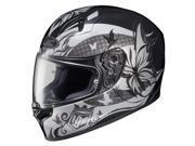 HJC FG-17 Flutura Full Face Helmet Black/Silver SM 9SIA1452T20785