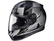 HJC CL-Y Striker Youth Full Face Helmet Black/Silver LG 9SIA1453FB3071