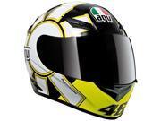 AGV K3 Rossi Gothic Helmet Black XS 9SIA1450UY2598