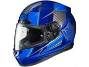 HJC CL-17 Striker Full Face Helmet Blue/Silver SM 9SIA1453PM1502