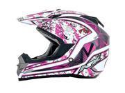AFX FX-19 Vibe MX Offroad Helmet Fuchsia SM 9SIA1450UV9707