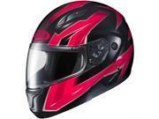 HJC CL-MAX 2 Ridge Modular Motorcycle Helmet Red/Black MD 9SIA1453FB3332