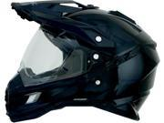 AFX FX-41DS Solid Full Face Helmet Black SM 9SIA1452T27498