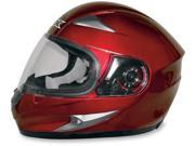 AFX FX-90 Solid Full Face Helmet Wine Red MD 9SIA1450U14193