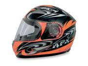 AFX FX-90 W-Dare Full Face Helmet Safety Orange SM 9SIA1450U14599