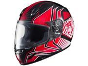 HJC CL-Y Redline Youth Motorcycle Helmet Red/Black MD 9SIA1452T12639