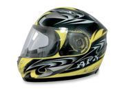 AFX FX-90 W-Dare Full Face Helmet Yellow SM 9SIA1450U13741