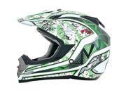 AFX FX-19 Vibe MX Offroad Helmet Green LG 9SIA1450U13955