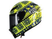 AGV Corsa Winter Test LE 2015 Ugly Sweater Helmet Blue/Yellow SM 9SIA1453R49649