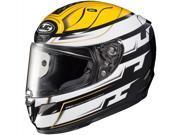 HJC RPHA-11 Pro Skyrm Full Face Helmet Black/Yellow/White MD 9SIA14555W9683