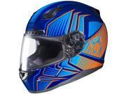 HJC CL-17 Redline Full Face Helmet Blue/Orange MD 9SIA1452T06699