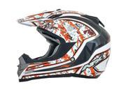 AFX FX-19 Vibe MX Offroad Helmet Orange MD 9SIA1450U13532