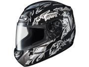 HJC CS-R2 Skarr Full Face Helmet Black SM 9SIA1450UY0770